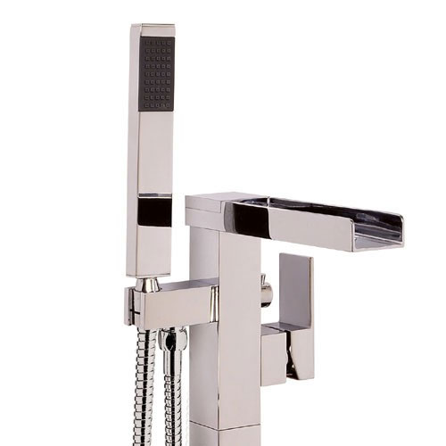 Mayfair - Dream Floor Standing Bath/Shower Mixer - DRM073 Profile Large Image