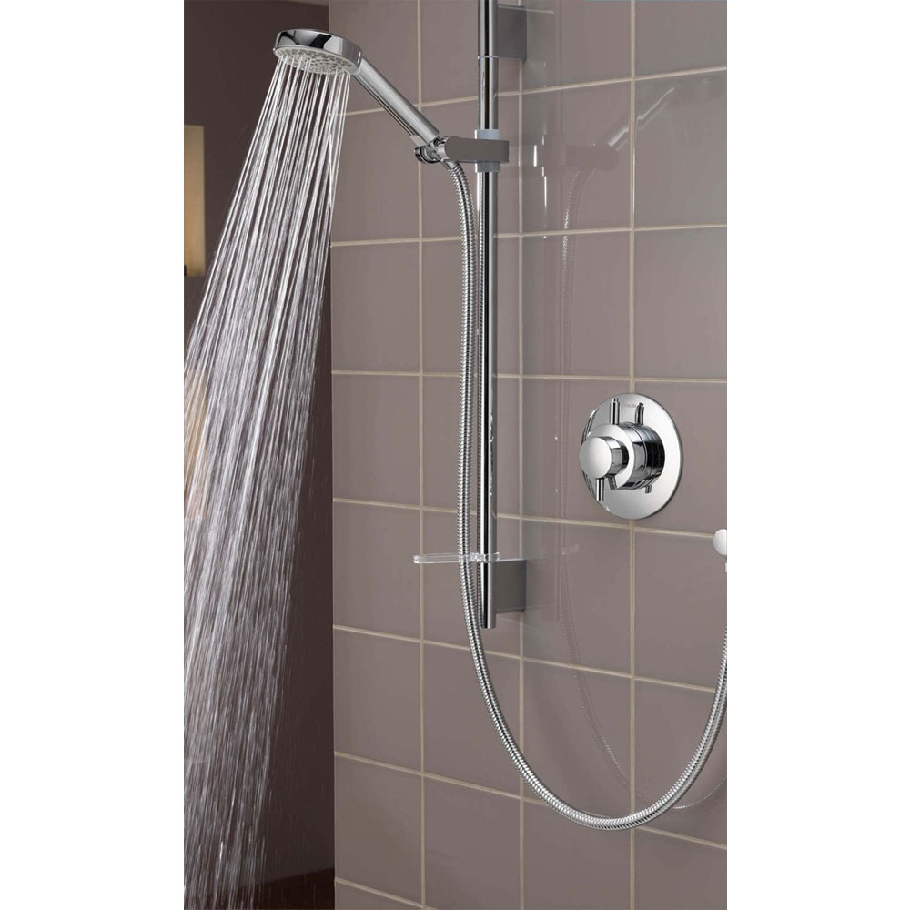 Aqualisa - Dream Concealed Thermostatic Shower Valve with Slide Rail Kit - DRM001CA profile large image view 4
