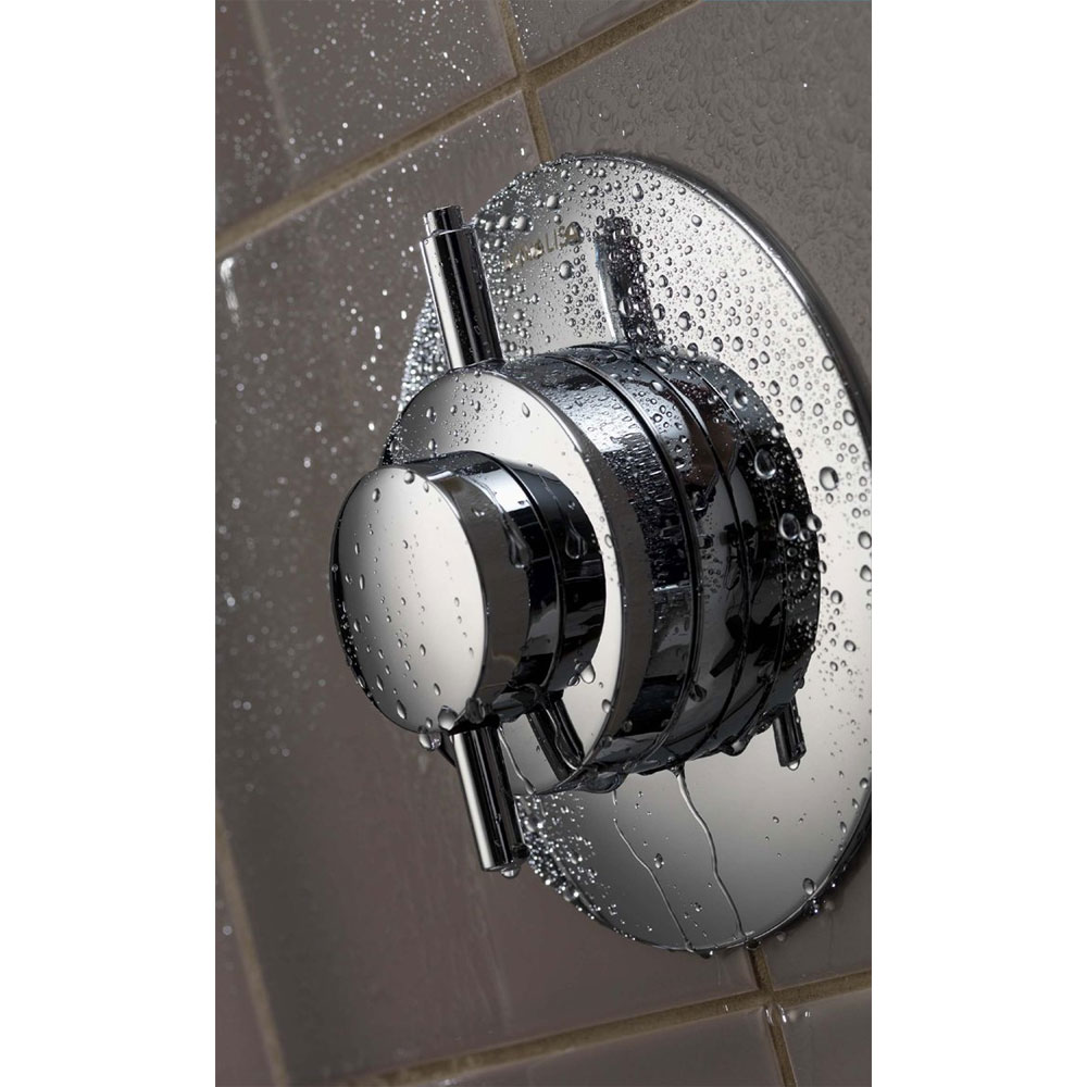 Aqualisa - Dream Concealed Thermostatic Shower Valve with Wall Mounted Fixed Head - DRM001CF additional Large Image