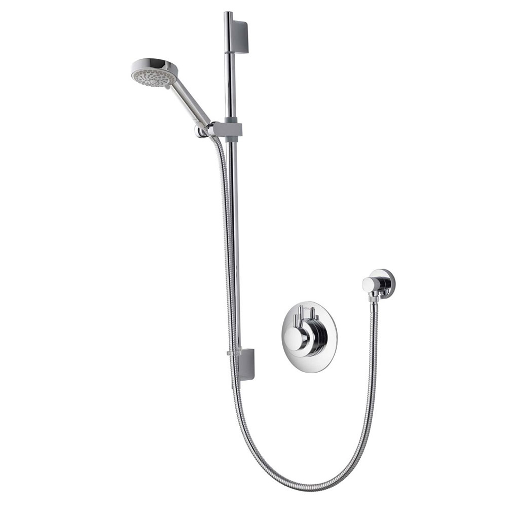 Aqualisa - Dream Concealed Thermostatic Shower Valve with Slide Rail Kit - DRM001CA profile large image view 1