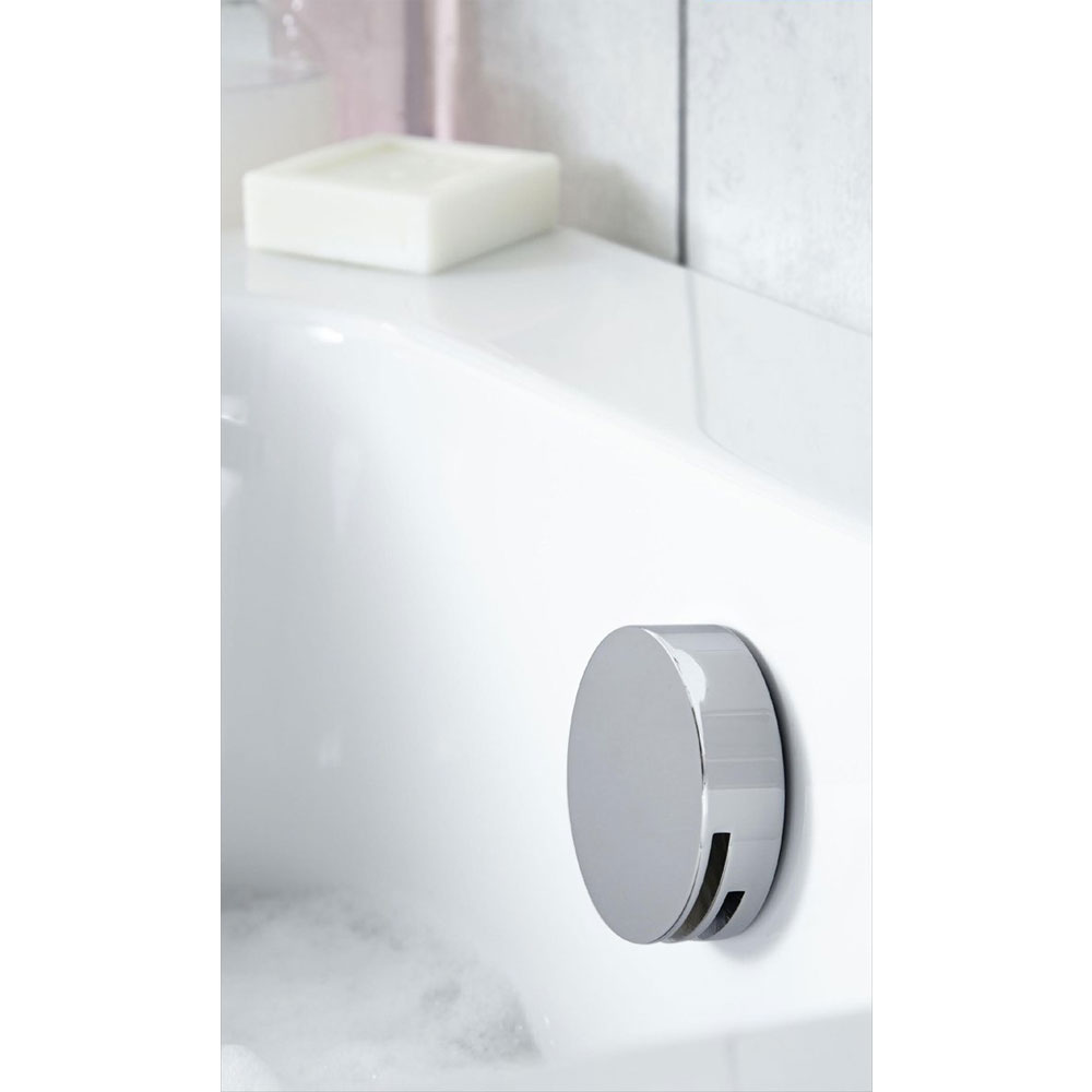 Aqualisa - Dream DCV Concealed Diverter Valve with Slide Rail Kit & Overflow Bath Filler - DRMDCV004 In Bathroom Large Image
