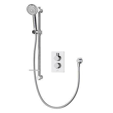 Aqualisa Dream Round Thermostatic Mixer Shower with Adjustable Head - DRMDCV1.AD.RND