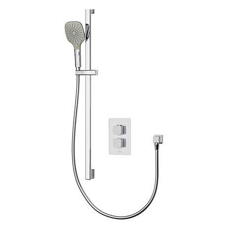 Aqualisa Dream Square Thermostatic Mixer Shower with Adjustable Head - DRMDCV1.AD.SQR