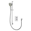 Aqualisa Dream Square Thermostatic Mixer Shower with Adjustable Head - DRMDCV1.AD.SQR profile small image view 1