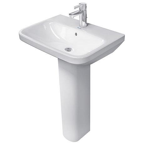 Duravit DuraStyle 1TH Basin + Full Pedestal