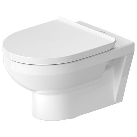 Duravit DuraStyle Basic Rimless Wall Hung Toilet + Seat