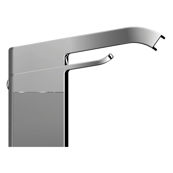 Bristan Descent 3 Hole Bath Filler Profile Large Image