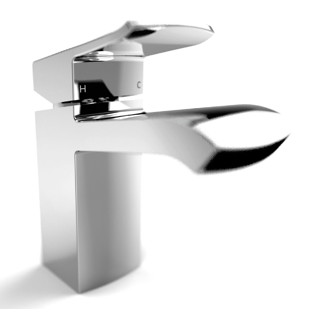 Bristan Descent Mono Basin Mixer with Clicker Waste Feature Large Image