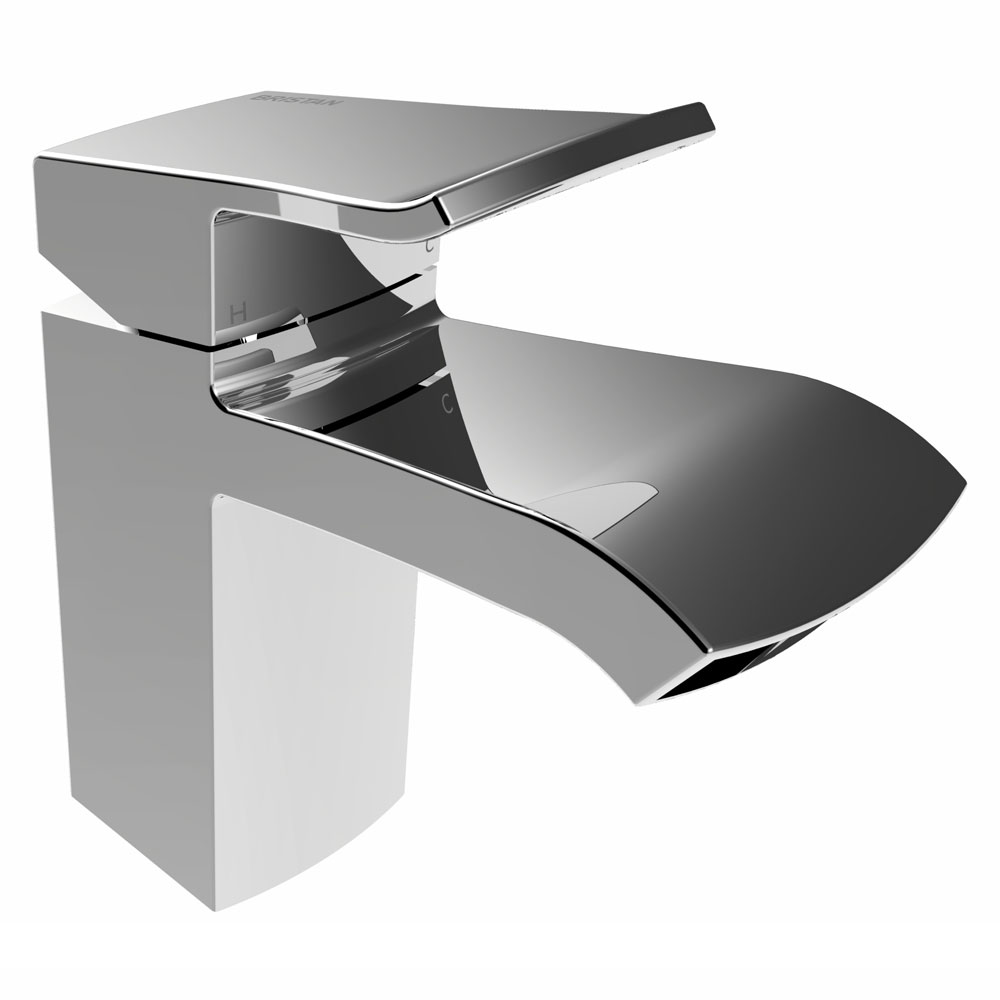 Bristan Descent Mono Basin Mixer with Clicker Waste Large Image