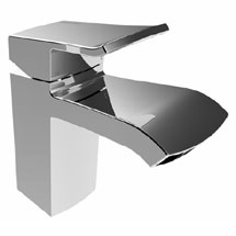 Bristan Descent Mono Basin Mixer with Clicker Waste Medium Image