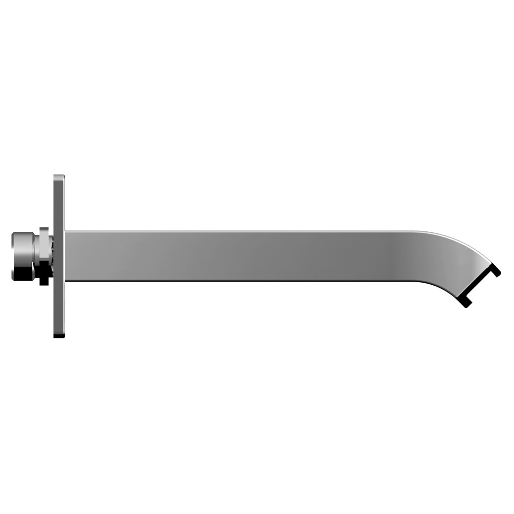 Bristan Descent Wall Mounted Bath Spout profile large image view 2