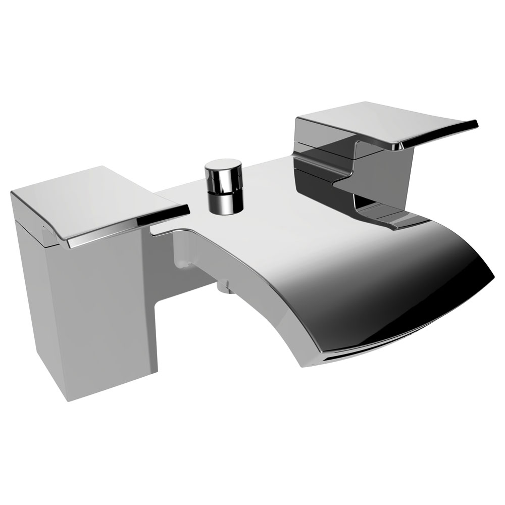 Bristan Descent Bath Shower Mixer with Kit Large Image