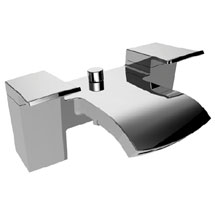 Bristan Descent Bath Shower Mixer with Kit Medium Image