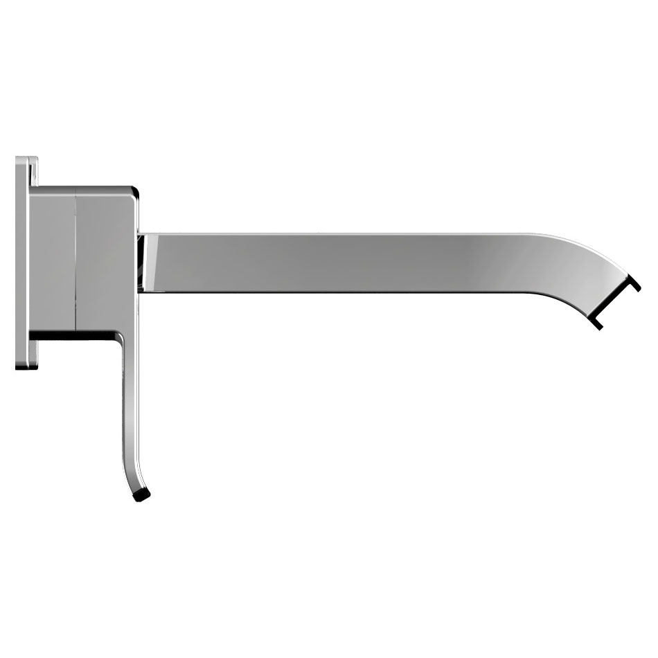 Bristan Descent Wall Mounted Basin Mixer Profile Large Image