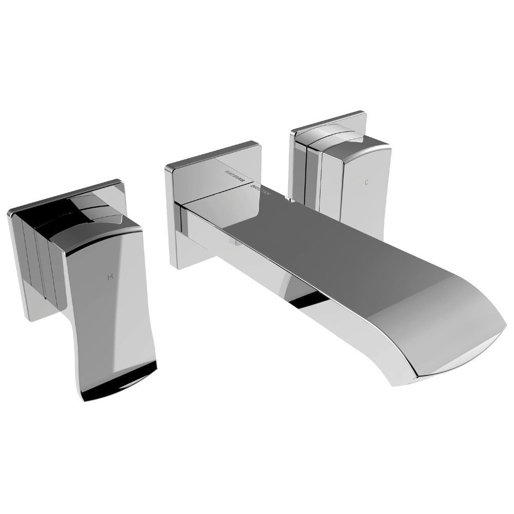 Bristan Descent Wall Mounted Basin Mixer Large Image