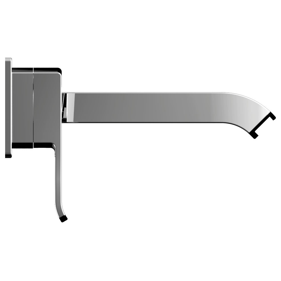 Bristan Descent Wall Mounted Bath Filler Profile Large Image