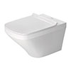 Duravit DuraStyle Durafix 540mm Wall Hung Toilet + Seat profile small image view 1