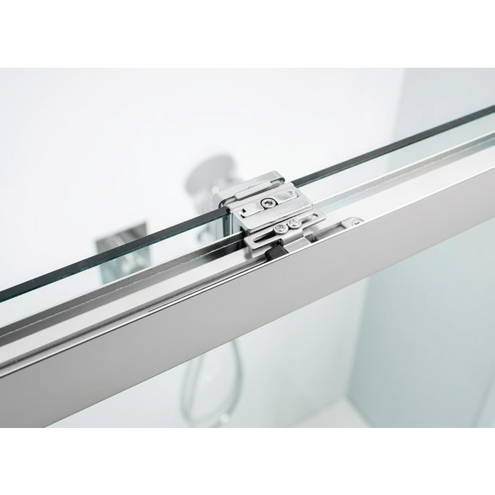 Simpsons - Design Soft Close Slider Shower Door - 5 Size Options profile large image view 2