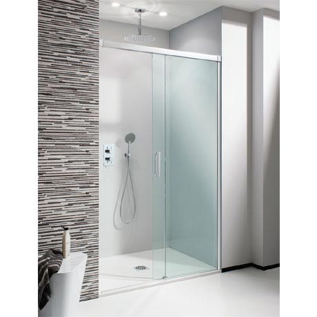Simpsons - Design Soft Close Slider Shower Door - 5 Size Options