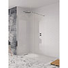 Crosswater - Design Shower Side Panel - Various Size Options profile small image view 1