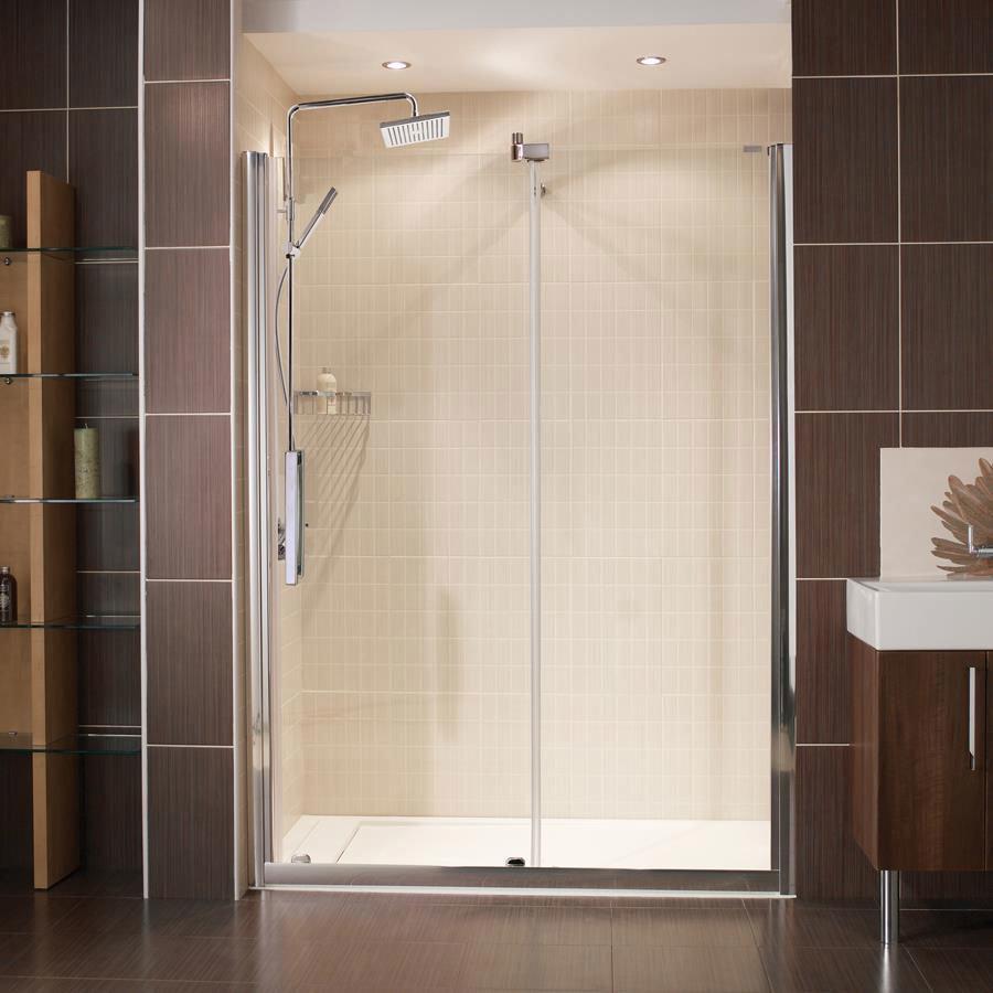 Roman Desire Frameless Sliding Shower Door Large Image