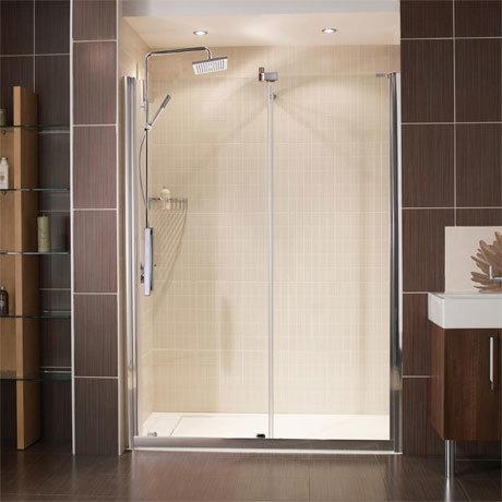 Roman Desire Frameless Sliding Shower Door