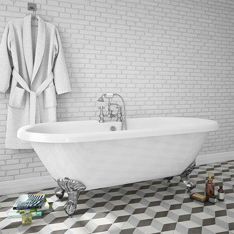 Duke 1795 Traditional Roll Top Bath