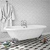 Duke 1795 Traditional Roll Top Bath profile small image view 1