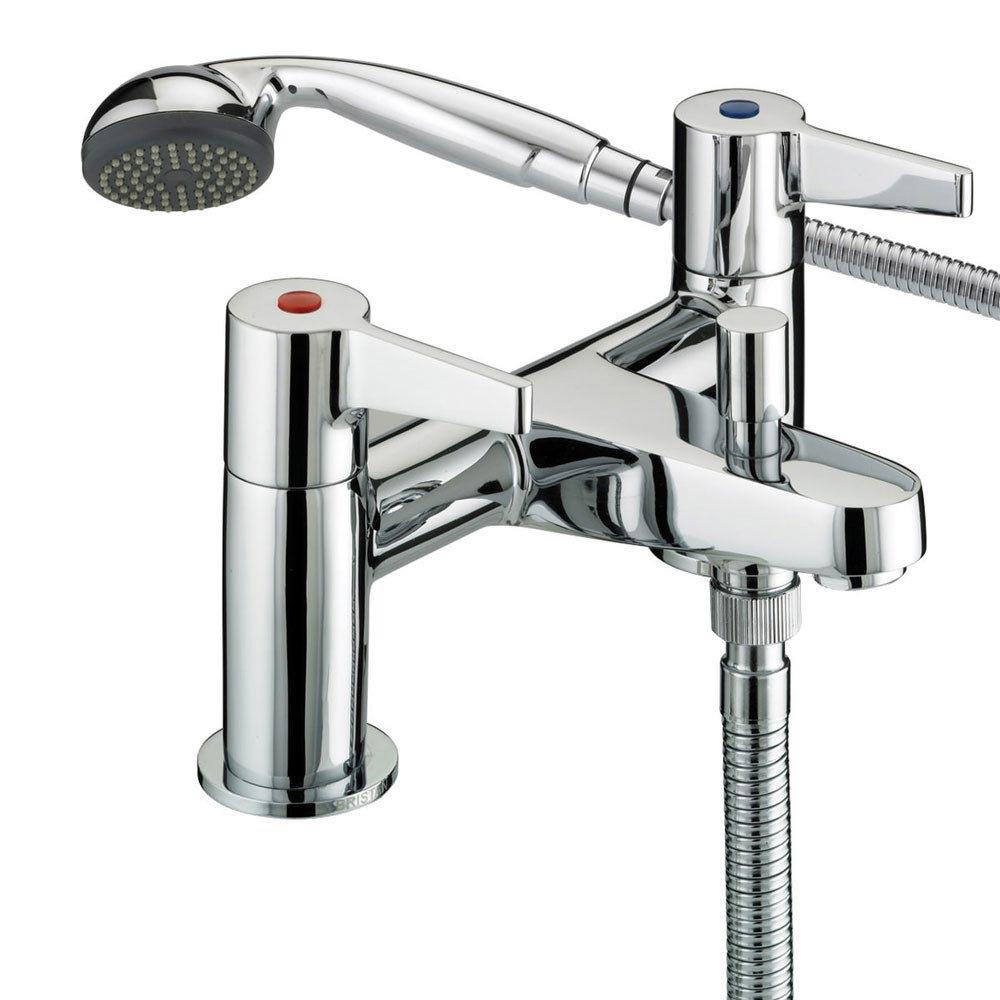 Bristan Design Utility Lever Bath Shower Mixer - DUL-BSM-C Large Image