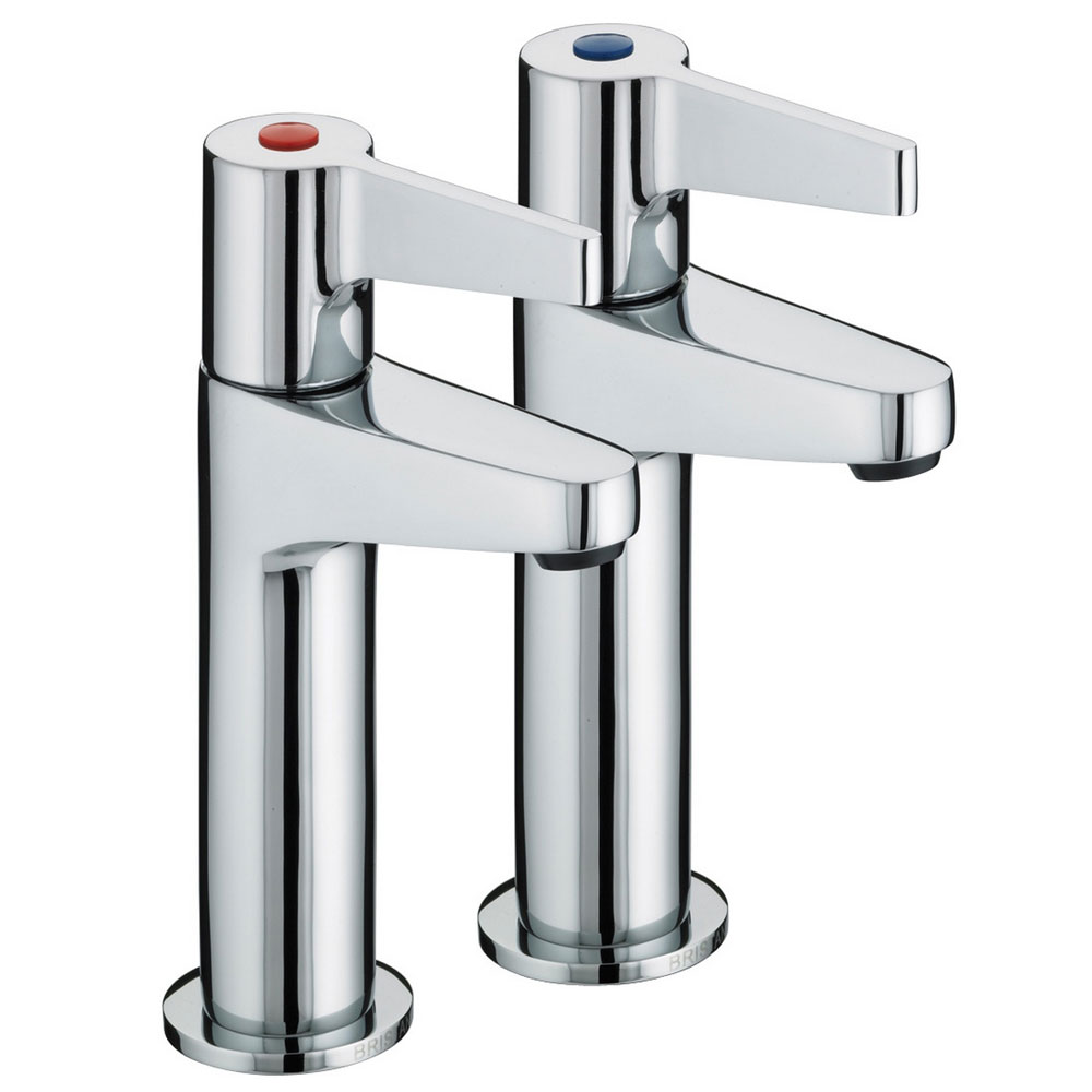 Bristan - Design Utility Lever High Neck Kitchen Taps - DUL-HNK-C profile large image view 1