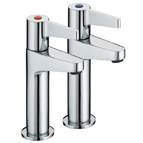 Bristan - Design Utility Lever High Neck Kitchen Taps - DUL-HNK-C