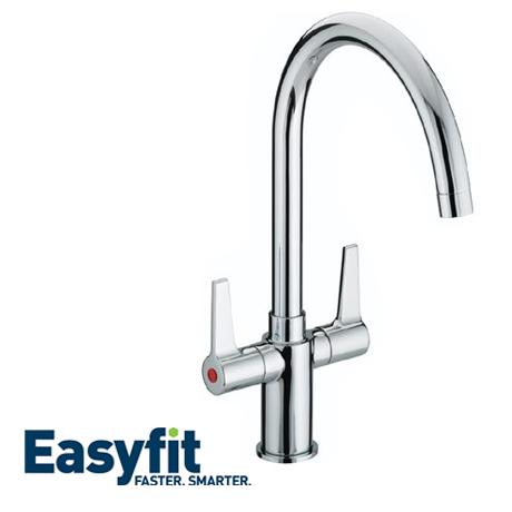 Bristan Design Utility Lever Easyfit Sink Mixer Chrome