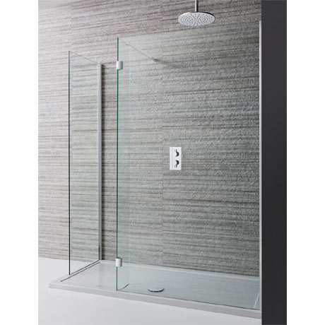 Simpsons - Design View Double Sided Walk In Shower Enclosure - 2 Size Options