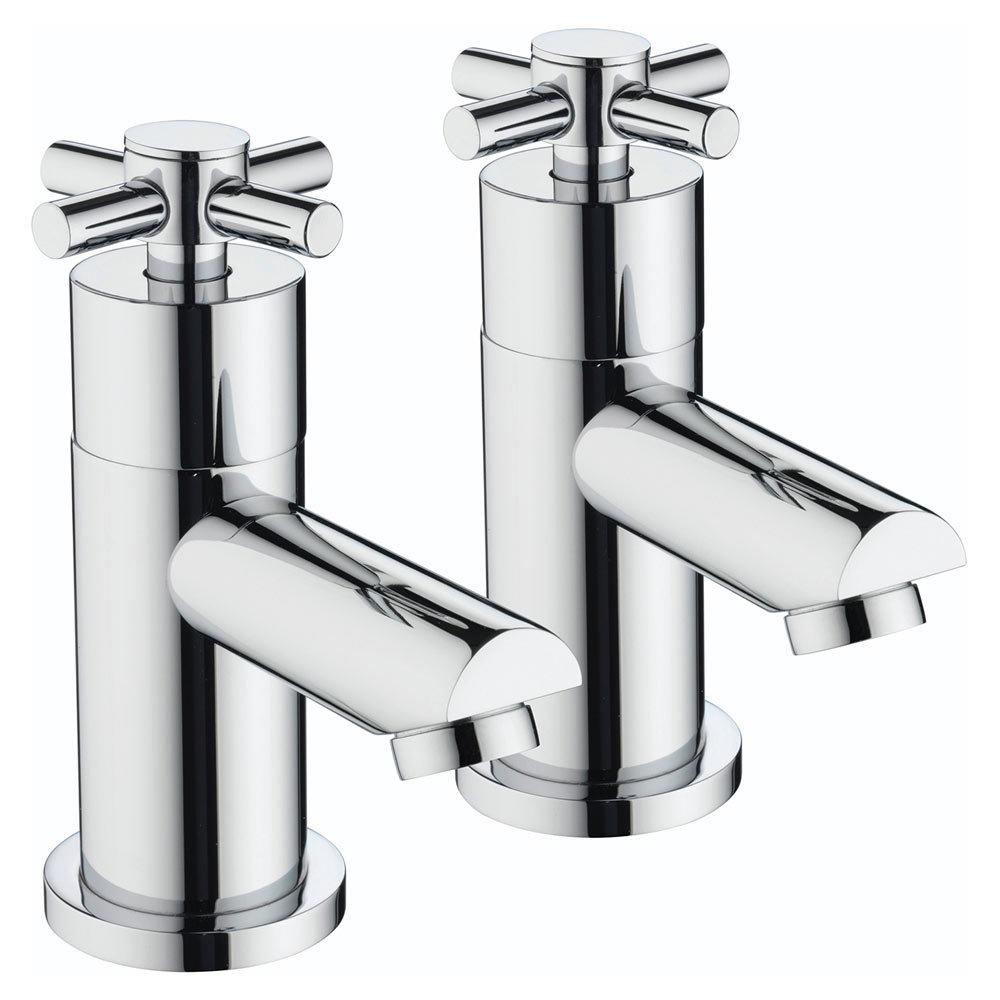 Bristan - Decade Contemporary Basin Taps - Chrome - DX-1/2-C