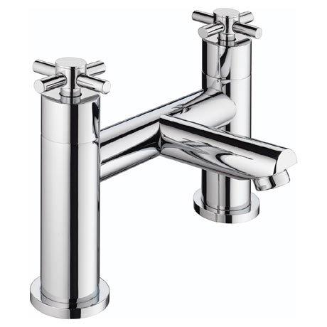 Bristan - Decade Contemporary Bath Filler - Chrome - DX-BF-C