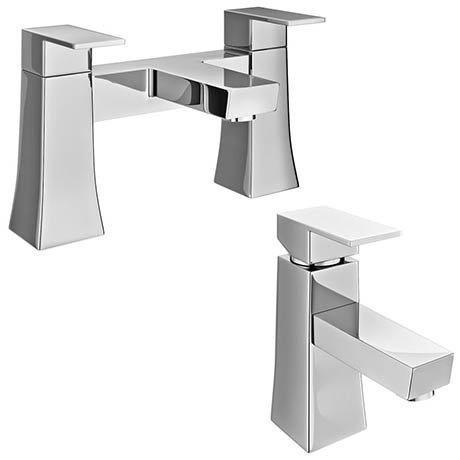 Dynamo Modern Tap Package (Bath + Basin Tap)