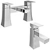 Dynamo Modern Tap Package (Bath + Basin Tap) profile small image view 1