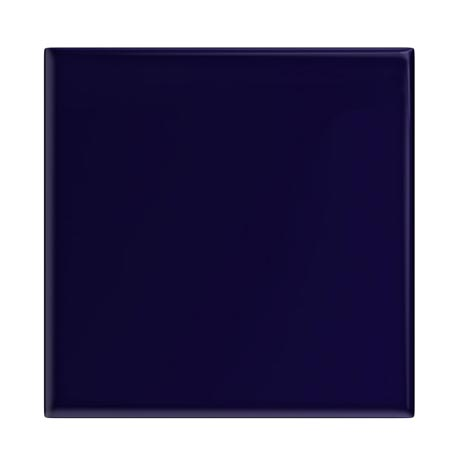 Danbury Glazed Cobalt Blue Field Tiles - 15 x 15cm
