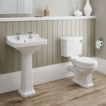 Darwin 4-Piece Traditional Bathroom Suite Medium Image