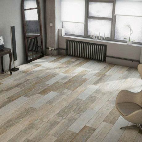 Darwin Light Wood Effect Porcelain Floor Tile - 220 x 850mm
