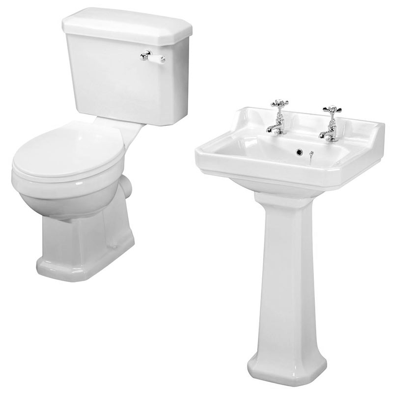 Darwin Traditional Bathroom Suite profile large image view 5
