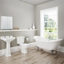 Darwin Traditional Bathroom Suite Medium Image