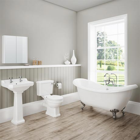 Darwin Traditional Bathroom Suite