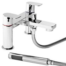 Dazzler Bath Shower Mixer with Shower Kit - Chrome Medium Image