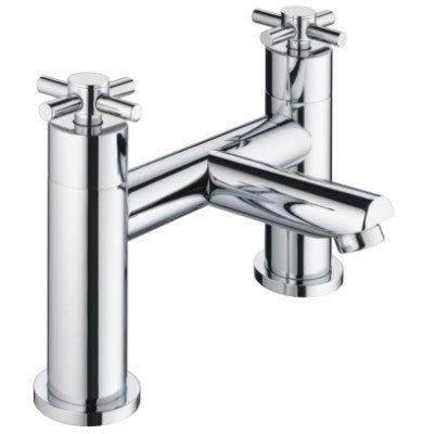 Bristan - Decade Contemporary Bath Filler - Chrome - DX-BF-C Large Image