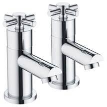 Bristan - Decade Contemporary Bath Taps - Chrome - DX-3/4-C Medium Image