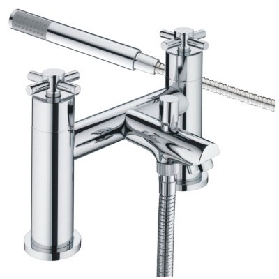 Bristan - Decade Contemporary Shower Mixer - Chrome - DX-BSM-C Large Image
