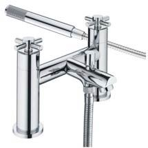 Bristan - Decade Contemporary Shower Mixer - Chrome - DX-BSM-C Medium Image