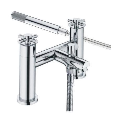 Bristan - Decade Contemporary Shower Mixer - Chrome - DX-BSM-C