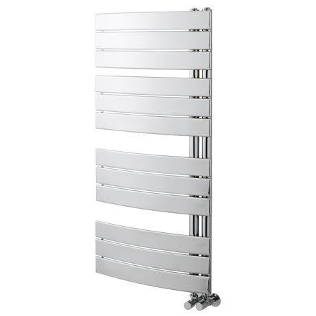 Delta Chrome Designer Heated Towel Rail 1080 x 550mm
